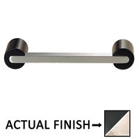 "Colonial Bronze - Pulls - 3"" Centers Pull in Matte Satin Black and Satin Nickel"
