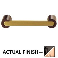 "Colonial Bronze - Pulls - 3"" Centers Pull in Satin Black and Satin Bronze"