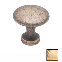 "Colonial Bronze - Antimicrobial Agion Knobs - 1 1/16"" Knob in Satin Brass"
