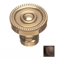 "Colonial Bronze - Knobs - 1 1/4"" Knob In Satin Bronze"