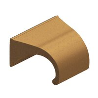 "Colonial Bronze - Pulls - 1 1/2"" Centers Pull in Satin Bronze"