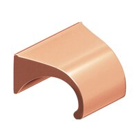 "Colonial Bronze - Antimicrobial Agion Pulls - 1 1/2"" Centers Pull in Satin Brass"