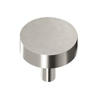 "Colonial Bronze - Knobs - 1 1/4"" Diameter Round Knob/Shank In Satin Bronze"