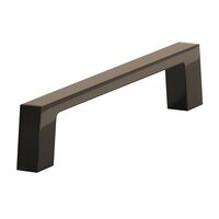 "Colonial Bronze - Antimicrobial Agion Pulls - 3 1/2"" Centers Pull in Satin Brass"