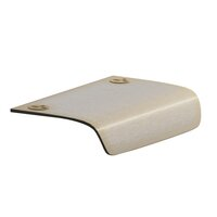 "Colonial Bronze - Pulls - 2 1/2"" x 2 1/8"" Edge Pull in Satin Bronze"