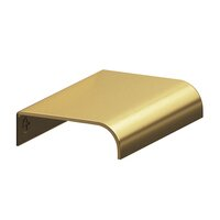 "Colonial Bronze - Pulls - 1 1/2"" Long Edge Pull in Satin Bronze"