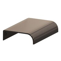 "Colonial Bronze - Pulls - 2 1/2"" x 1 1/2"" Edge Pull in Satin Bronze"