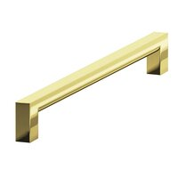 "Colonial Bronze - Pulls - 6"" Centers Rectangular Pull in Satin Bronze"