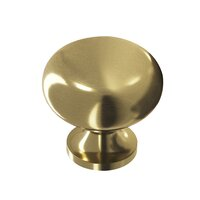 "Colonial Bronze - Knobs - 1 1/4"" Knob In Unlacquered Oil Rubbed Bronze"