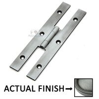 "Classic Brass - Classic - 5"" Hinge in Weathered Pewter"