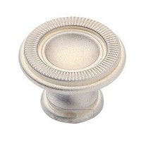 "Classic Brass - Classic - Marco 1 1/8"" (29mm) Knob in Satin Silver"