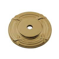 "Classic Brass - St. Georges - 1 1/2"" Diameter Backplate in Antique Brass"