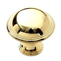 "Classic Brass - Classic - 1 1/2"" (38mm) Knob in Polished Brass"