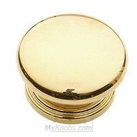 "Classic Brass - Classic - 2"" (51mm) Knob in Polished Brass"