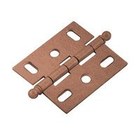 Classic Brass - Classic - Mortise Hinge in Brass with Ball Finial in Weathered Copper