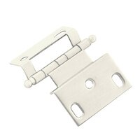 "Classic Brass - Classic - 3/8"" Offset Hinge in Steel with Ball Finial in Satin Silver"