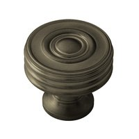"Classic Brass - Chautauqua  - 1 1/4"" Diameter Knob in Antique Brass"