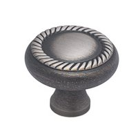 "Colonial Bronze - Arlington - 1 1/2"" Arlington Knob in Matte Pewter"