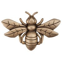 "Acorn MFG - Artisan - 2 1/4"" Bee Knob in Museum Gold"
