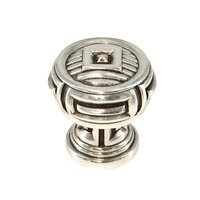"Edgar Berebi - Innsbruck - 1 5/16"" Diameter Innsbruck Knob in Antique Brass"