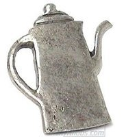 Emenee - Kitchen - Coffee Pot Knob in Antique Bright Silver
