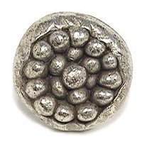 Emenee - Expression - Organic Circle Knob in Antique Matte Silver