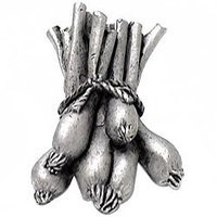 Emenee - Harvest - Spring Onions Knob in Warm Pewter
