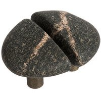Michigan Naturals - Mountain Midnight Stone - Split Medium Perfect Pair Knobs in Mountain Midnight