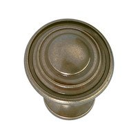 "Hafele Hardware - Antique English - 1 1/8"" Diameter Knob in Antique English"