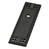 "Liberty Hardware - Mission - 4 1/2"" Vertical Textured Backplate"