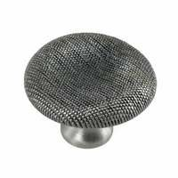 "MNG Hardware - Vanilla - 1 1/2"" Thumbprint Knob in Oil Rubbed Bronze"