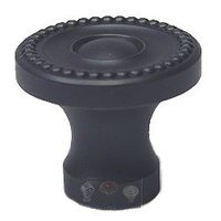 "Omnia Industries - Classic & Modern - 1 5/8"" Beaded Knob in Oil Rubbed Bronze"