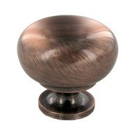 "Richelieu Hardware - Urban Expression V - 1 1/4"" Diameter Knob in Antique Copper"