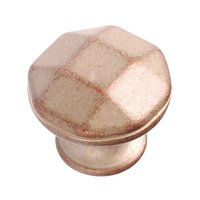 "Richelieu Hardware - Village Expression VII - 1 1/8"" Diameter Beveled Knob in Inca"