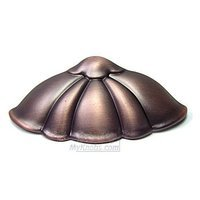 RK International - Distressed Copper - Petal Cup Pull in Distressed Copper