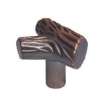 RK International - Distressed Copper - Branch Knob in Distressed Copper