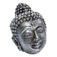 Siro Designs - Impala - Buddah Knob in Antique Silver