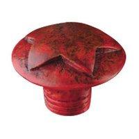 Compare View Details · Siro Designs   Fantasia   Star Knob In Antique Red