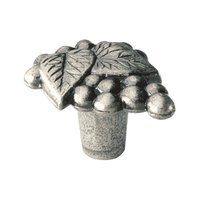Siro Designs - Big Bang - Grapes Knob in Antique Pewter