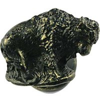 Sierra Lifestyles - Western Design - Buffalo Knob Left in Bronzed Black