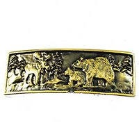 Sierra Lifestyles - Woodlands Design - Wilderness Pull in Antique Brass
