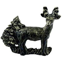 Sierra Lifestyles - Wildlife Design - Standing Deer Pull in Bronzed Black