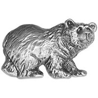 Sierra Lifestyles - Wildlife Design - Grizzly Pull in Pewter