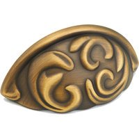 Schaub and Company - Arcadia - Light Brass Forged Solid Brass Cup Pull