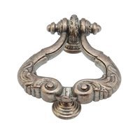 Schaub and Company - Antique Classics - Solid Brass Ring Pull w/ Protector in Monticello Silver