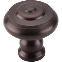 "Top Knobs - Normandy - Knob 1 1/8"" in Oil Rubbed Bronze"
