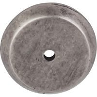 "Top Knobs - Aspen - Solid Bronze 1 1/4"" Diameter Round Backplate in Silicon Bronze Light"