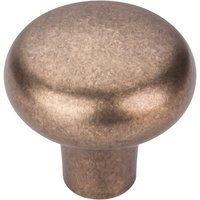 "Top Knobs - Aspen - Solid Bronze 1 5/8"" Diameter Round Knob in Light Bronze"