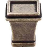 "Top Knobs - Great Wall - Great Wall - 1"" Tapered Knob in German Bronze"