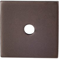"Top Knobs - Sanctuary - 1"" Square Knob Backplate in Oil Rubbed Bronze"